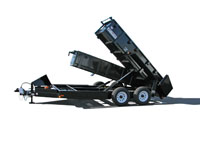 Danco Dual Dump Trailer - Image