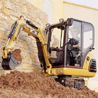 Mini-Hydraulic Excavators - Image