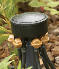 DIG 6-Outlet Adjustable Flow Drip Emitter - Image