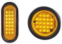 Meteorlite Self-Contained LED Directional Warning Lights - Image