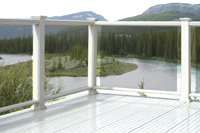 Westech Presidio Glass and Vinyl Railing - Image