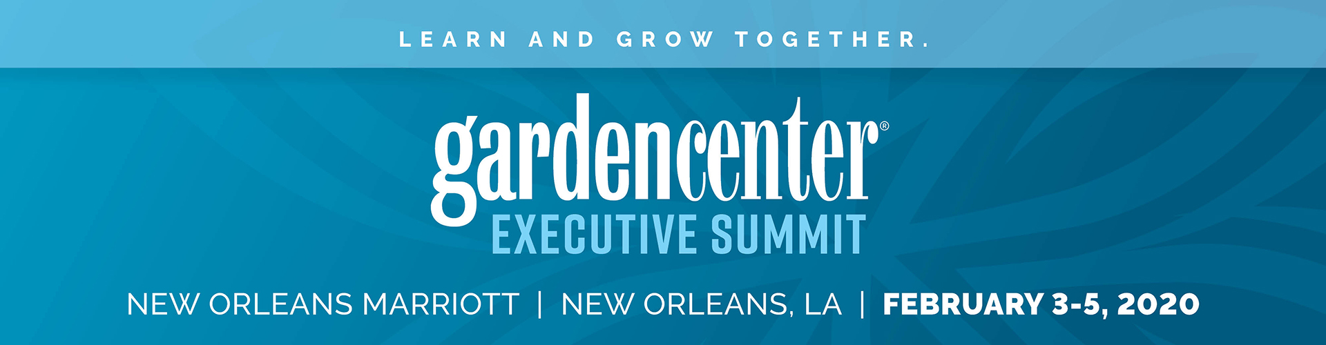 Garden Center Executive Summit Info Slide