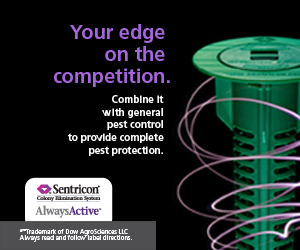 Dow AgroSciences Sentricon: Your Edge on the Competition Banner Ad
