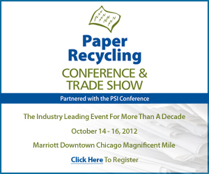 GIE Media Paper Recycling Conference & Trade Show Prime Plus Ad