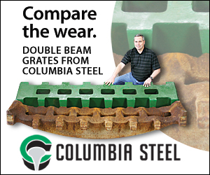 Columbia Steel Casting Co. Compare the wear AS e-news Prime Plus Ad