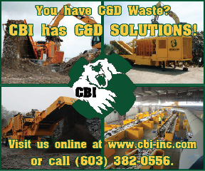 Continental Biomass Industries Inc. CBI has C&D solutions Prime Plus Ad