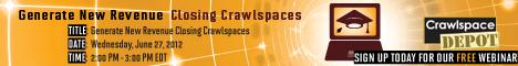 Nisus Corporation Crawlspace Webinar Banner Ad