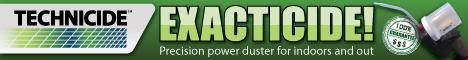Technicide, Inc. Exacticide Banner Ad