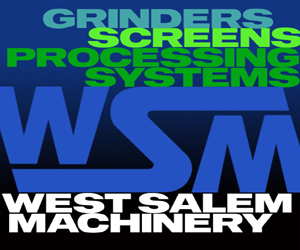 West Salem Machinery Grinder Screens Processing Systems Prime Plus Ad