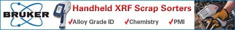 Bruker AXS Handheld Handheld XRF Scrap Sorters Banner Ad
