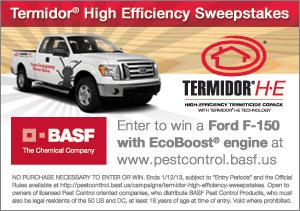 BASF Professional Pest Control Termidor H-E e-news Banner Ad