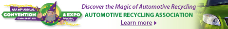 Automotive Recyclers Association ARA Convention eNews ad Banner Ad