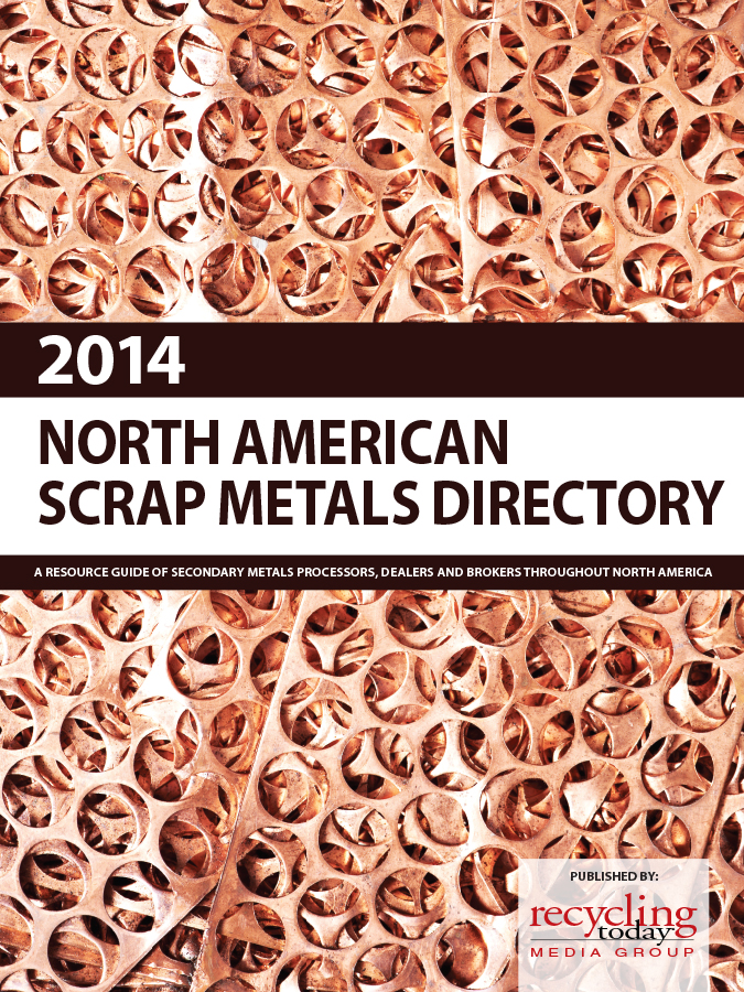 OUT OF STOCK--2014 North American Scrap Metals Directory - Image