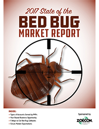 2017 State of the Bed Bug Market Cover