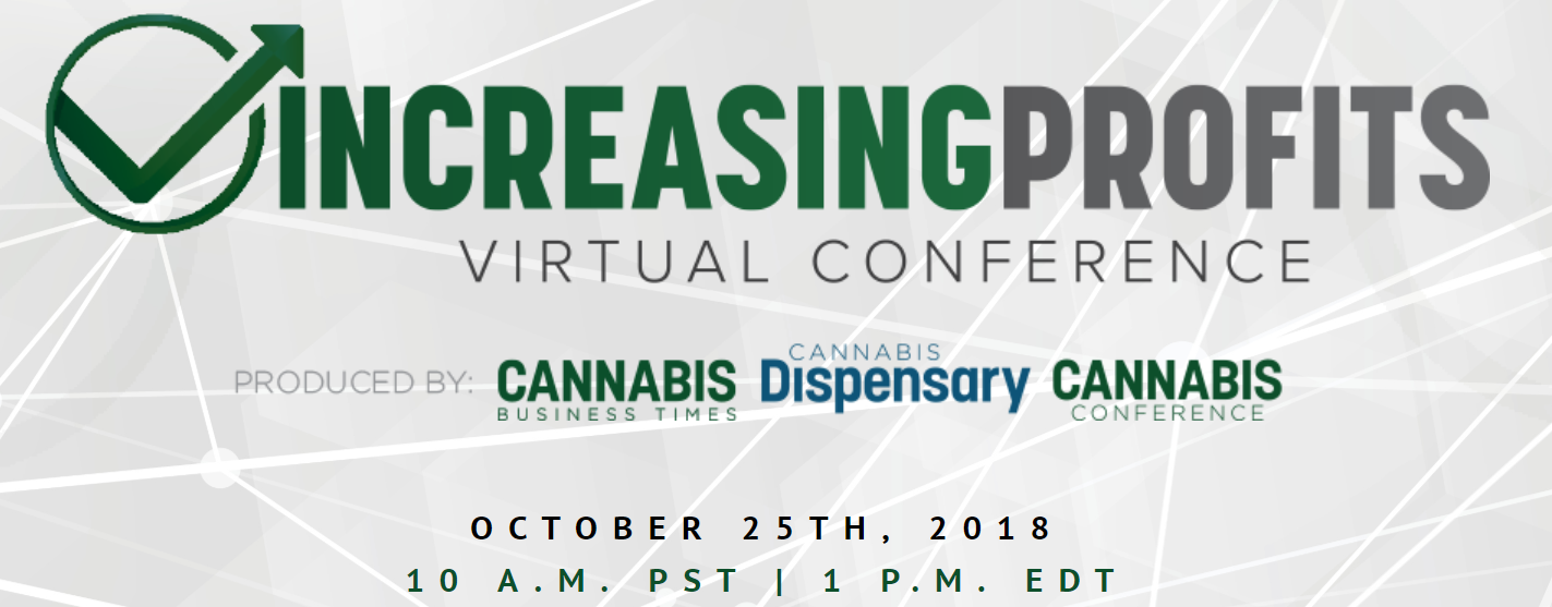 Register Now for Cannabis Business Times' 'Increasing Profits' Virtual Conference