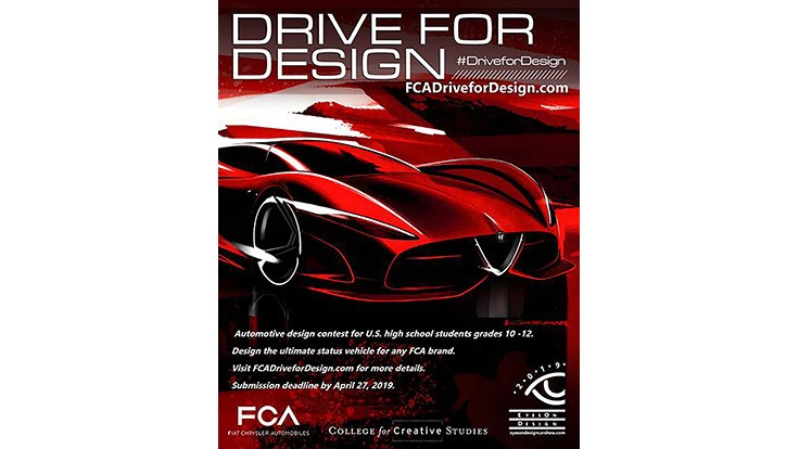Seventh Annual Drive For Design Contest Seeks Next Design Star Today S Motor Vehicles