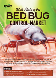 2018 State of the Bed Bug Market Cover