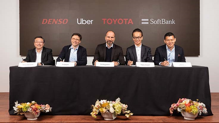 Toyota, SoftBank fund Spend $1 billion in Uber