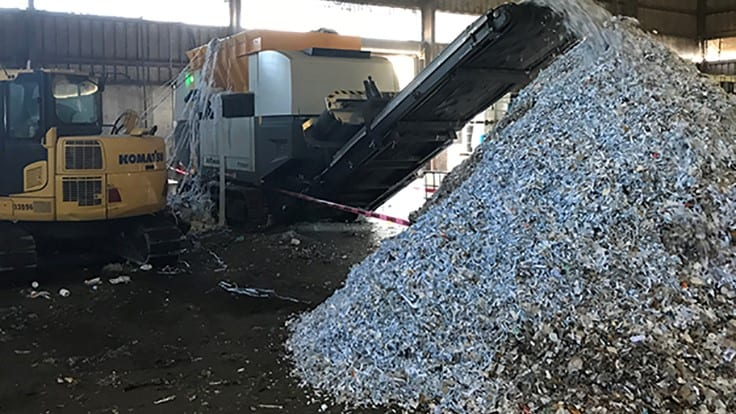 How Geocycle is relying on shredding technology to produce RDF to fuel its zero waste goals
