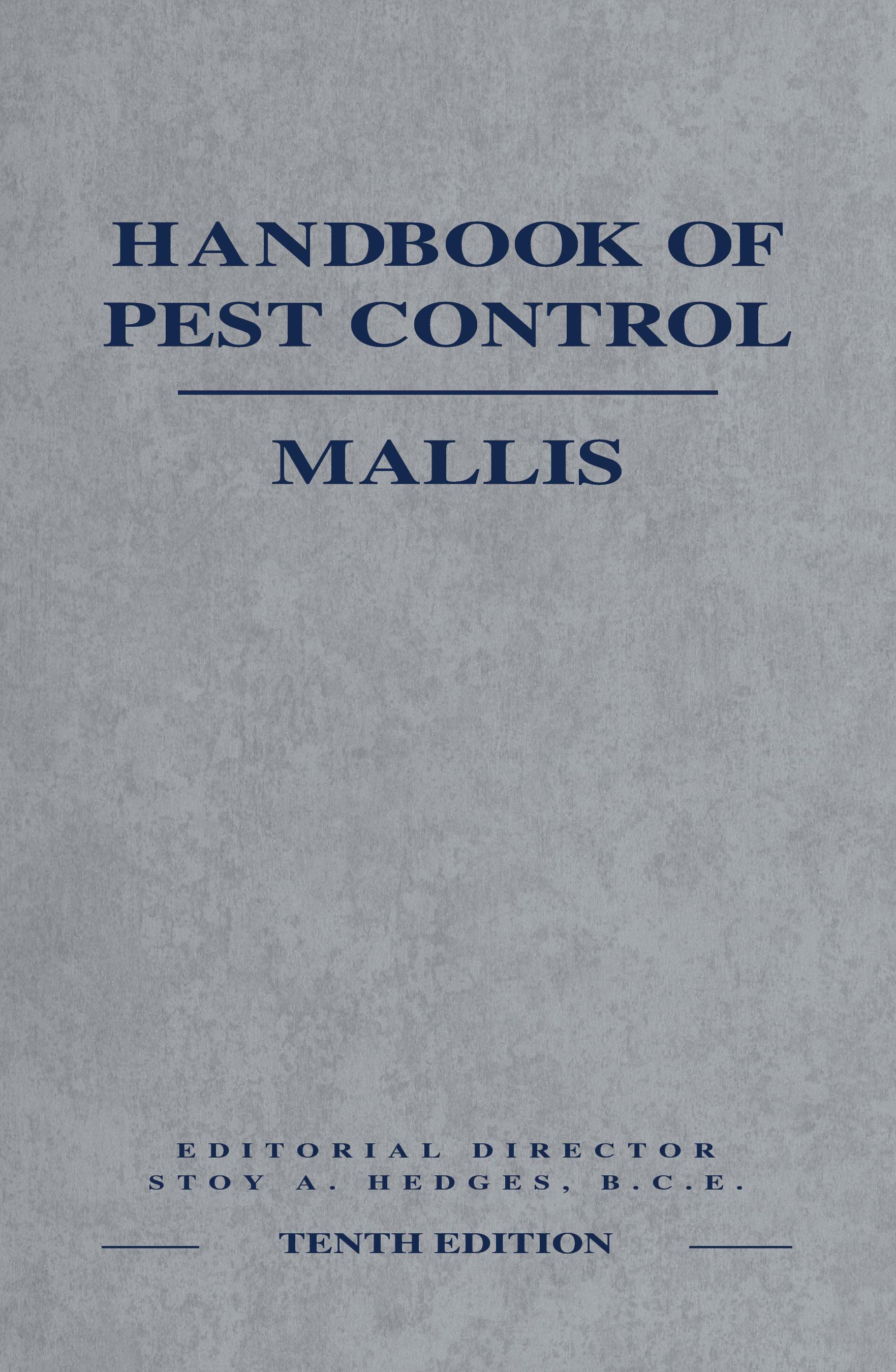 Mallis Handbook of Pest Control, 10th Ed. - Image