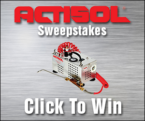 Actisol Sweepstakes Banner Ad