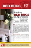 OUT OF PRINT: Battling Bed Bugs in Apartments pamphlets - Image