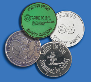 Custom Safety Coins - Image