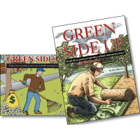 Green Side Up Book and Audio CD Set Combo NO LONGER AVAILABLE - Image
