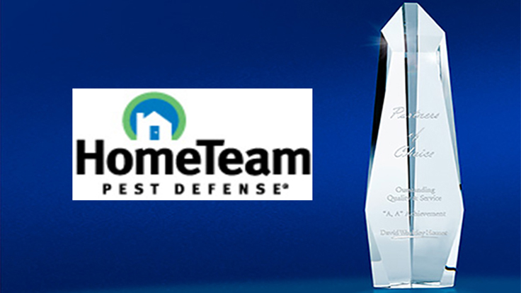 hometeam pest defense earns 39 partners of choice 39 award
