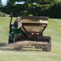 TurfEx MS4500 Electric-Powered Topdresser - Image