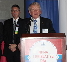 larry treleven presented with fmc legislative day award