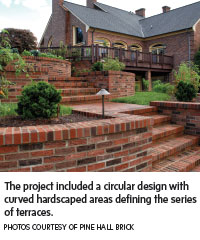 circular retaining wall design