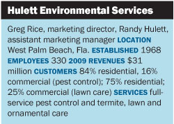 as a firm that owns the domain bugscom hulett services capitalizes on its premiere image in the pest control industry when