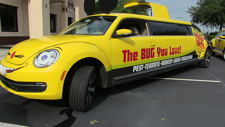 Truly Nolen Debuts New Volkswagen Mouse Limo - PCT - Pest Control ...