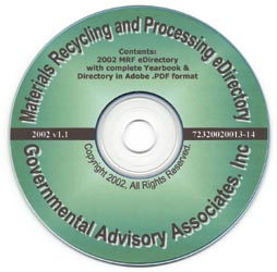 Materials Processing & Recycling Industry in the U.S. Yearbook & Directory – CD-ROM Edition - Image