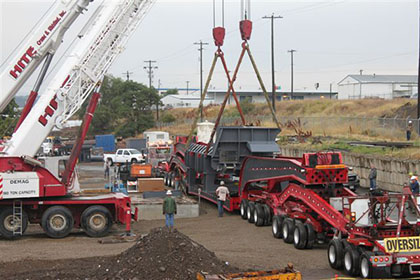 Pacific Steel & Recycling Installs New Equipment - Image