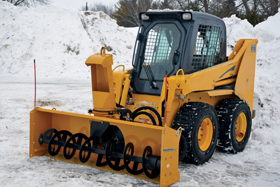 Sno Blower Skid-Steer Attachments - Image