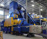 High Capacity Single-Ram Extrusion Balers - Image