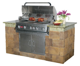Outdoor Grill Island - Image