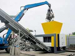 RS 150 Four-Shaft Shredder - Image
