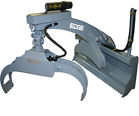 Edge Rotating Log Puller Grapple - Image