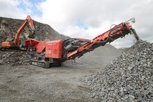 J-1170 Primary Mobile Jaw Crusher - Image