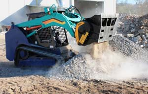 Skid-Steer-Loader-Mounted Crushers - Image