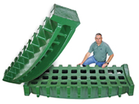 Shredder Double Beam Grates - Image