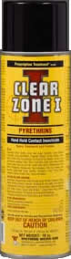 Prescription Treatment brand Clear Zone 1 - Pyrethrins - Hand Held Contact Insecticide - Image