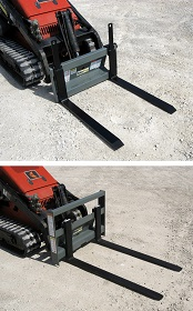 Mini skid-steer pallet - Image