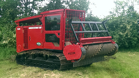 FTX290 Mulching Tractor - Image