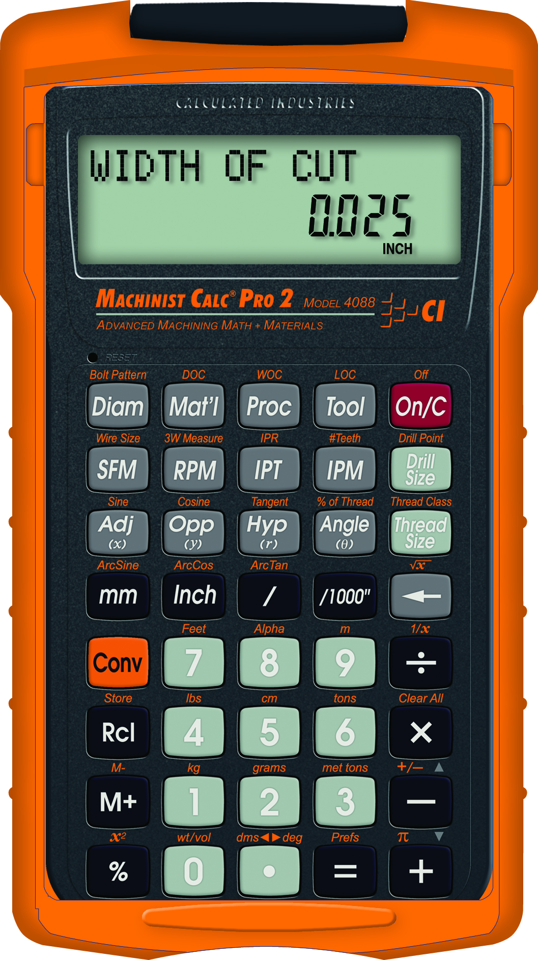 The Machinist Calc Pro 2