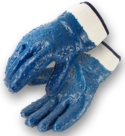 Rough Coated Nitrile Gloves - Image