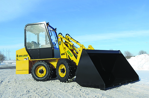 NMC 2850 articulated compact loader - Image